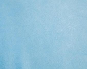 Solid Cuddle Baby Blue Minky, Baby Blue Minky, Shannon Minky Fabric, Shannon Cuddle Minky, Minky Fabric, Minky by Yard
