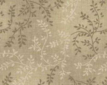 Beige fabric, extra wide quilt backing fabric - tonal vineyard,  100% cotton, wide quilting fabric, 108 inch wide
