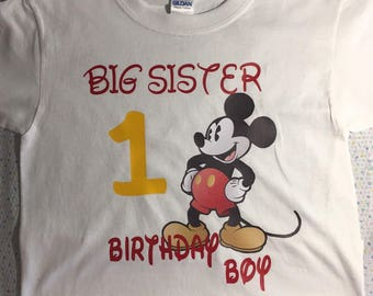 Mickey Big Sister / Brother