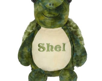 Personalized Stuffed animals - Custom monogram Stuffed animals pillows - gifts for baby, toddlers, girls, boys - custom gifts under 45