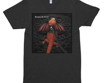My Pet Dragon - Dragons Do Exist - Short sleeve soft t-shirt