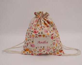 Custom bag for blanket