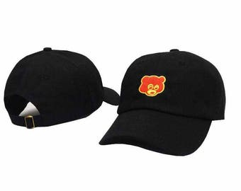Black kanye west the college drop out baseball cap