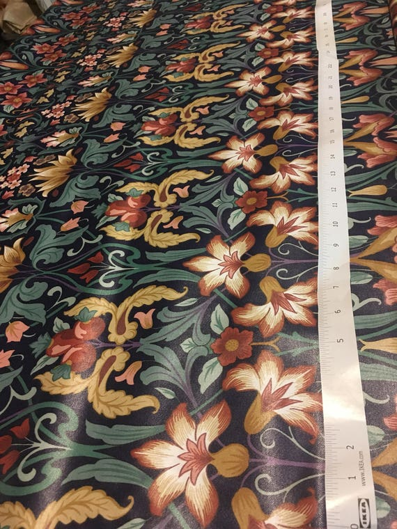Vintage 1 3 8 Yard Remnant 1990 Interior Fabric Designs