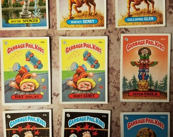 Garbage Pail Kids trading cards - 3rd Series 1986