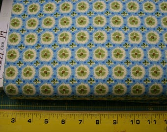 Timeless Treasures COUNTRY blue patchwork fabric