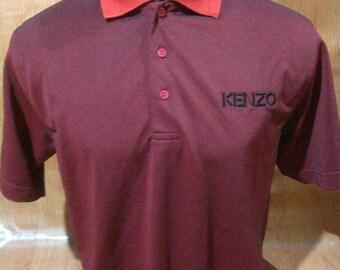 Vintage Kenzo Golf TShirts Vintage Kenzo Made in Japan