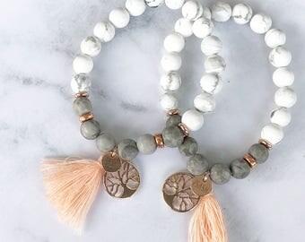 Marble Rose Gold Bracelet
