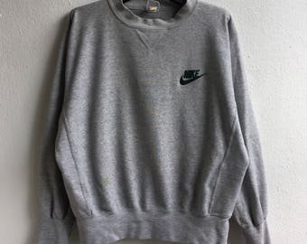 Vintage Nike Sweatshirt Sweater Pullover Jumper Fit To