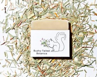 All-Natural Lemongrass Soap