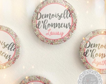 For your bridesmaids or witnesses 60 mm Pocket mirror