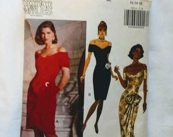 Vintage Butterick Dress Pattern Sizes 12, 14, 16