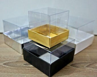 Baby Shower favor box, SMALL Size cardboard box with lid, Cardboard box, Christmas box, Wedding favor box, Unique favor box, Wedding box