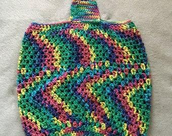 Crochet Beach Tote