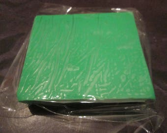 block of 50 g of polymer clay / Fimo Green
