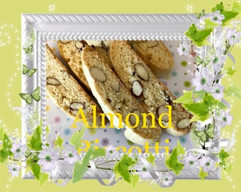 Roasted Almond Biscotti 1 lb