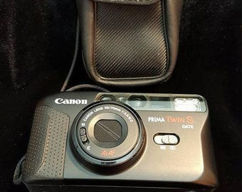 canon prima twin s vintage camera