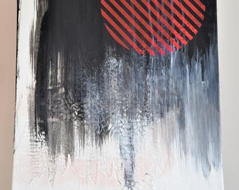 Abstract image/Abstract art/acrylic on canvas/painting/abstract painting/canvas/Minimalism/Minimalism