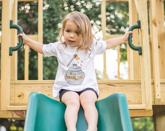 Sweet As Honey Tee - by Moon Moppets