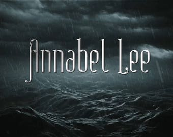 Annabel Lee - an Edgar Allan Poe inspired perfume oil