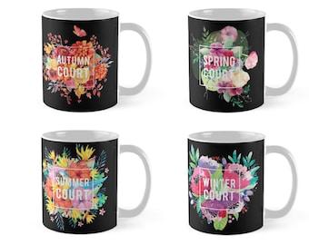ACOTAR Floral Mug Collection