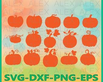 70% OFF, Pumpkin Svg, Halloween svg, Pumpkin Silhouette, Pumpkin Pattern Svg, Pumpkin Svg, Dxf, Eps, Png files, Silhouette Cut Files