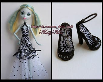 Сlothes/Outfit for Monster High: Dress+ shoes