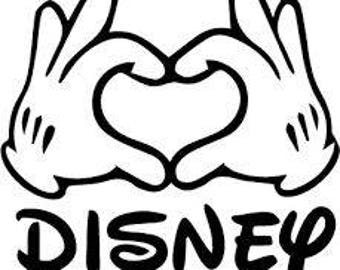 Love Disney.svg file for Cricut or Silhouette