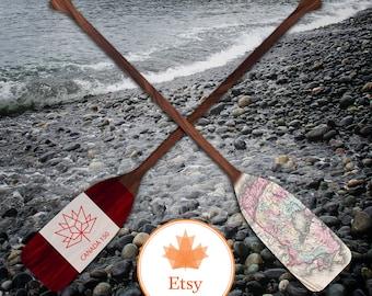 Canada 150 Commemorative Anniversary Decor Paddle - Canada Day - Canadian Decor - Canadiana - Cottage Decor - Home Decor - Rustic Decor
