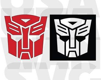 Transformer autobot SVG Files, Transformer autobot  SVG Cut File Transformer Monogram File for Cricut Die Cut Machine Files Instant Download