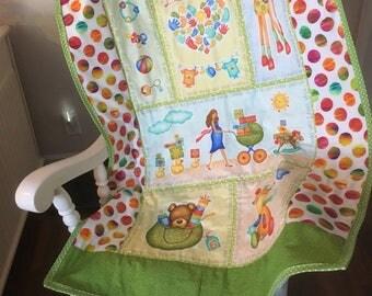 Crib Size Quilt  (boy or girl)