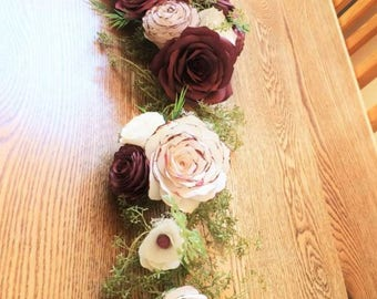 Wedding Table Garland. Made to Order.