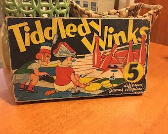 Tiddledy Winks Vintage