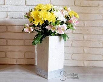 Concrete vase Convase30