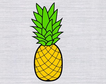 Pineapple svg   Etsy