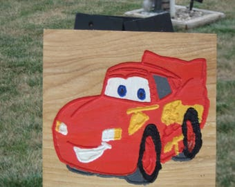 Lightning McQueen  Plaque