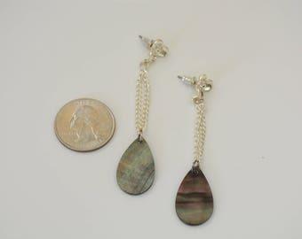 Shell Teardrop Earrings