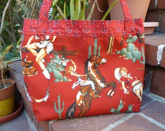 Cowgirl up purse