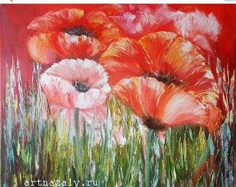 CHRISTMAS IN JULY Printable flower poppy print, floral art print poppies, print red poppies art, floral art print poppy, poppies print red f