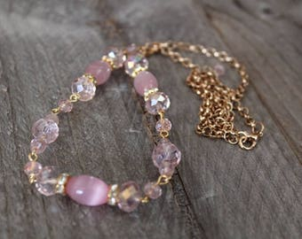 Pink Lady ~ Necklace