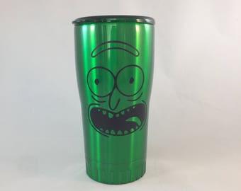 Pickle Rick-ish Tumbler
