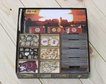 7 Wonders  board game insert, organizer, storage solution