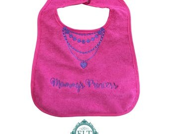 Mommy's Princess Baby Bib