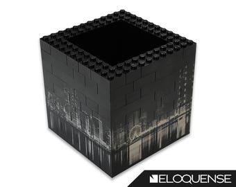 Lego Cube Puzzle, Lego Picture Puzzle, Lego Art Puzzle, Lego Portrait Puzzle - Laser Marked