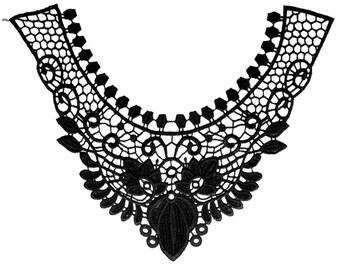 Lace black C605