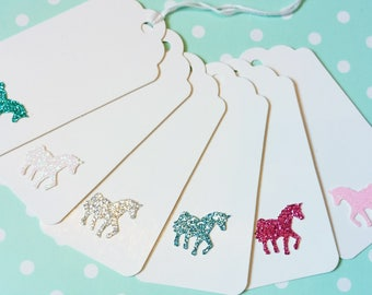 Handmade unicorn gift tags