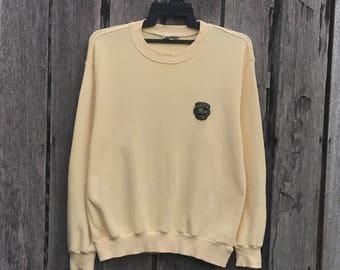 Vintage!! Rare Lacoste club spells out small Logo Sweatshirt