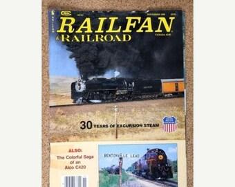 S Railfan & Railroad Magazine November 1990