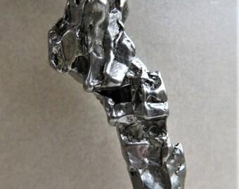 Pendant Campo del Cielo Meteorit -  1 Stück mit Zertifikat - Oktaedrite IVA - Eisen-Meteorit