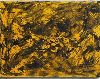 Black Ink on Yellow (#23)